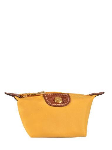 Longchamp Le pliage Porte monnaie Jaune