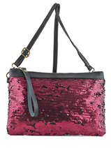 Pochette Ceremonie Sac De Soiree Milano Violet night club NC16097