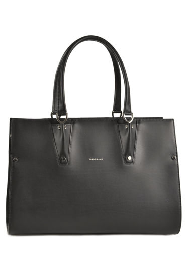 Longchamp Paris Premier Handbag Black