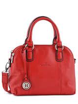 Sac Porte Main Pretty Leather Hexagona Red pretty PB463452