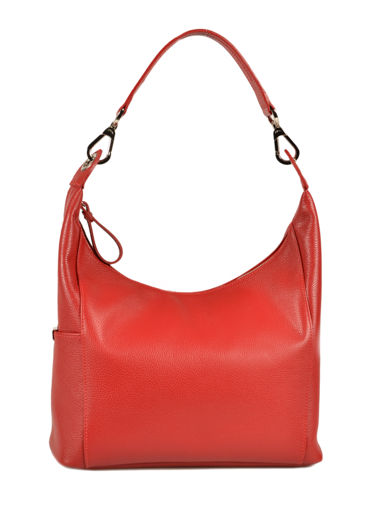 Longchamp Le foulonné Hobo bag Red