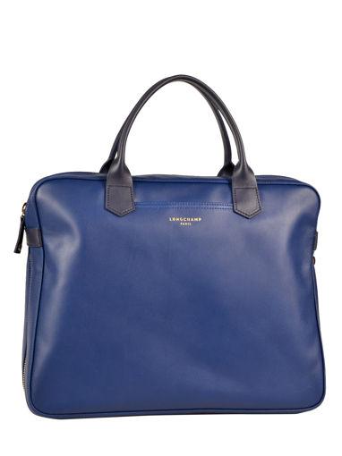 Longchamp Longchamp 2.0 Briefcase Blue