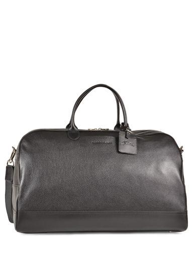 Longchamp Le foulonné Sac de voyage Noir
