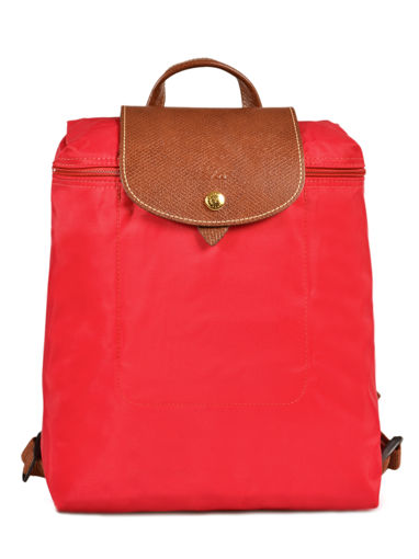 Longchamp Le pliage Sac à dos Rouge