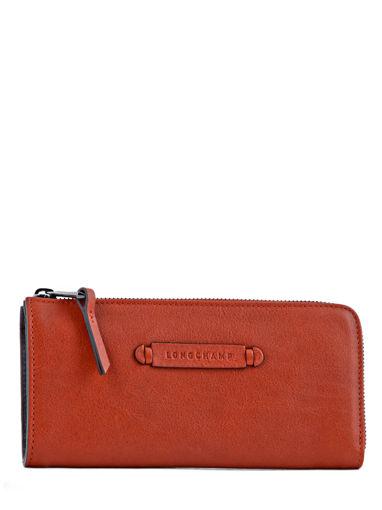 Longchamp Longchamp 3d Wallet Red