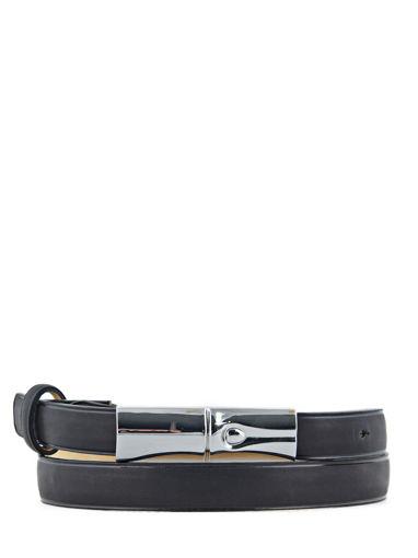 Longchamp Roseau héritage Belts Black