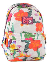 Sac A Dos 1 Compartiment Superdry Multicolore backpack M91001NO