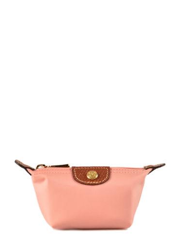 Longchamp Le pliage Coin purse Pink