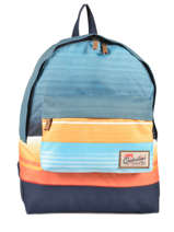 Sac A Dos 1 Compartiment Quiksilver Bleu backpacks QYBP3337