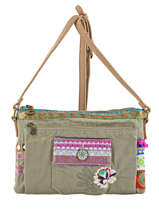 Sac Bandouliere Porte Travers Military Deluxe Desigual Vert military deluxe 71X9JC7