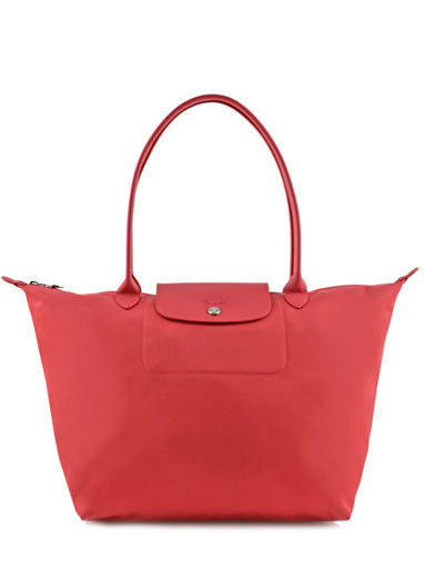Longchamp Le pliage neo Sac porté travers Rouge