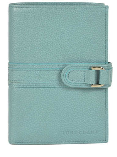 Longchamp Le foulonné Wallet Blue