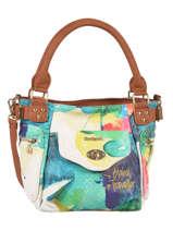 Sac Porte Main Aquarelle Desigual Multicolor aquarelle 72X9EY5
