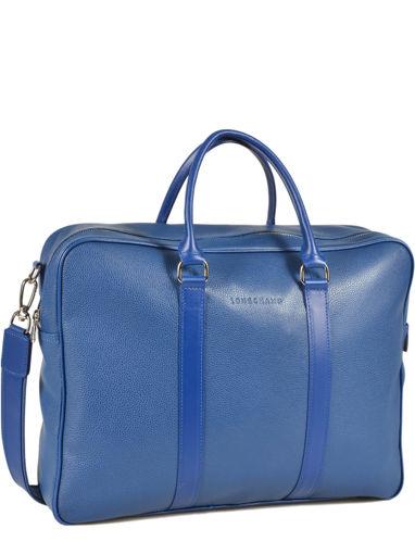 Longchamp Le foulonné Briefcase Blue