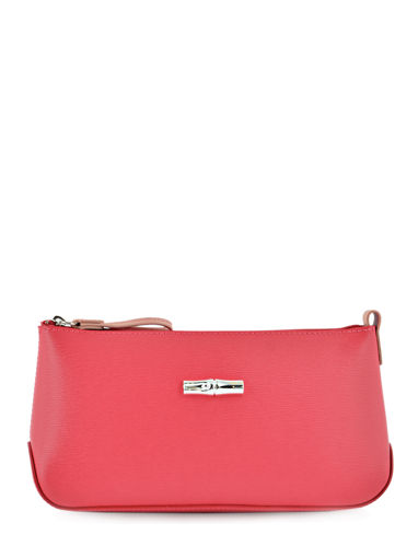 Longchamp Clutch / cosmetic case Red