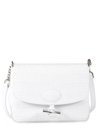Longchamp Messenger bag White