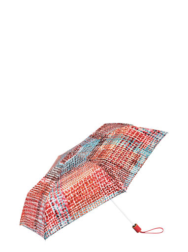 Longchamp Le Pliage Losange Parapluie Rouge