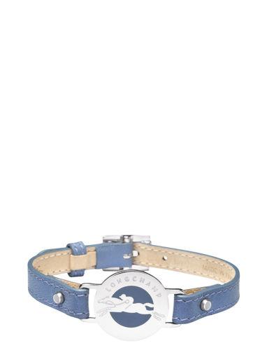 Longchamp Le pliage cuir Bijoux Bleu