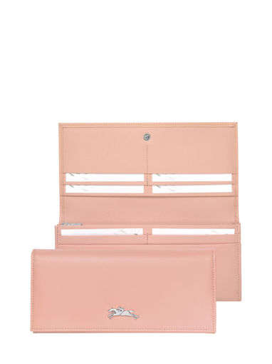 Longchamp Honoré 404 Wallet Pink