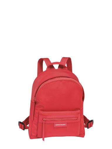 Longchamp Le pliage neo Sac à dos Rouge