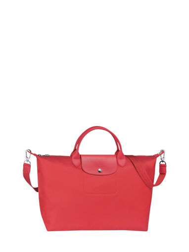 Longchamp Le pliage neo Sac porté main Rouge