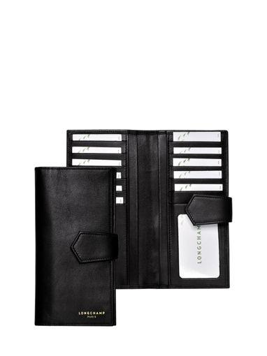 Longchamp Longchamp 2.0 Portefeuille Noir