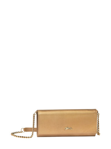 Longchamp Honoré 404 Wallet Gold