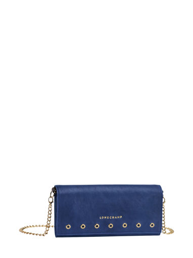 Longchamp Paris Rocks Wallet Blue