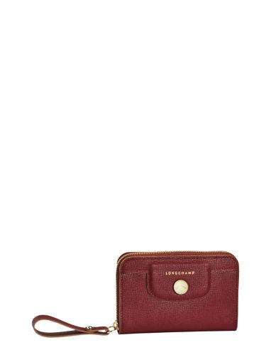 Longchamp Porte monnaie Rouge