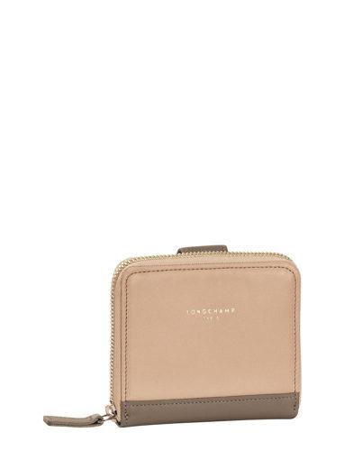 Longchamp Longchamp 2.0 Portefeuille Beige