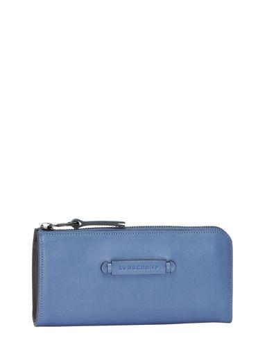 Longchamp Longchamp 3d Portefeuille Bleu