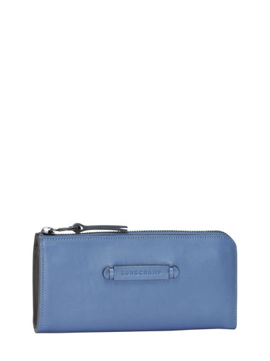 Longchamp Longchamp 3d Wallet Blue