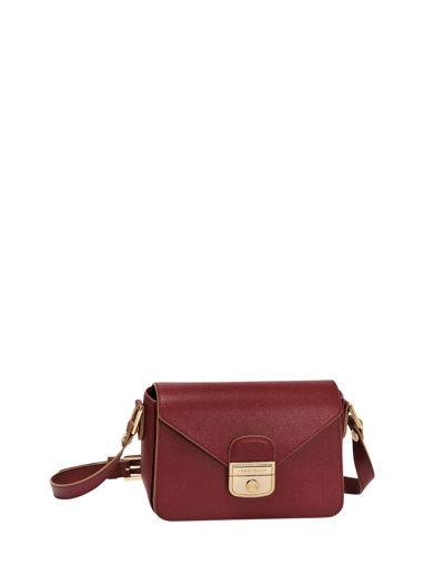 Longchamp Le pliage héritage Messenger bag Red
