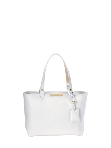 Longchamp Le Foulonné City Messenger bag White