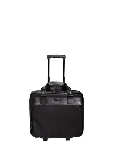 Longchamp Valise à roulettes Noir