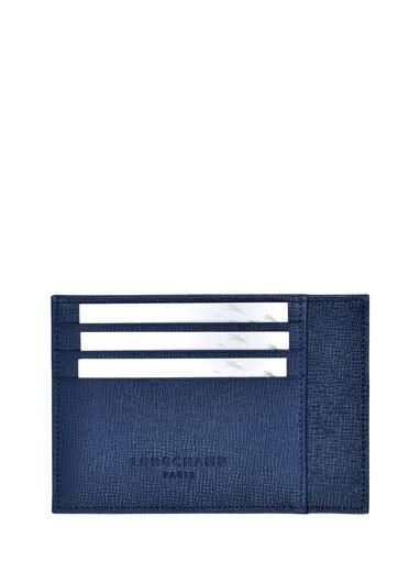 Longchamp Porte billets/cartes Bleu