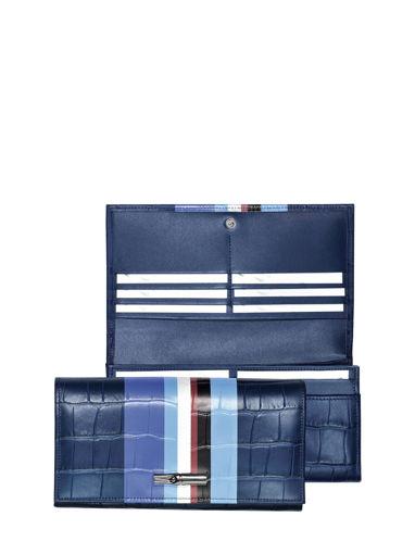 Longchamp Portefeuille Bleu