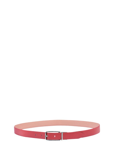 Longchamp Roseau Ceinture Rouge