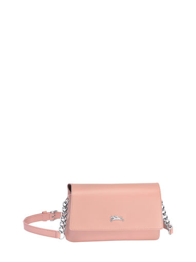 Longchamp Honoré 404 Sac porté travers Rose