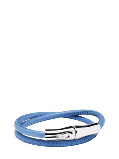 Longchamp Roseau Croco Jewelry Blue
