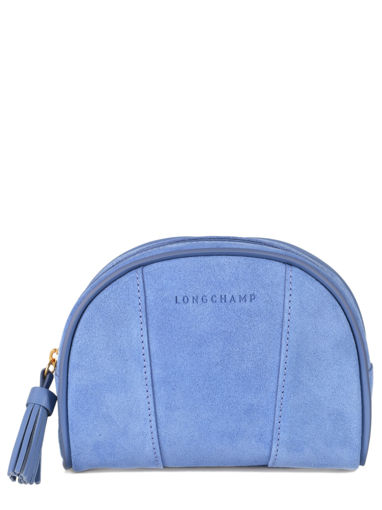 Longchamp Clutch / cosmetic case Blue