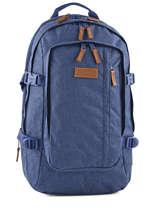 Sac A Dos 2 Compartiments Pc15'' Eastpak Bleu core series K221