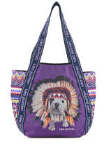 Shoulder Bag A4 Teo Apache Teo jasmin Violet teo apache TEO619AP