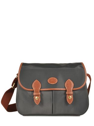 Longchamp Le pliage Messenger bag Gray