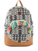 Sac A Dos 1 Compartiment Roxy Multicolore backpack RJBP3441