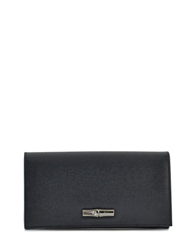 Longchamp Wallet Black