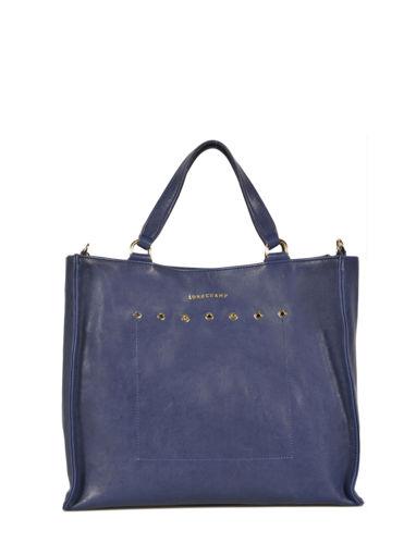 Longchamp Paris Rocks Sac porté main Bleu