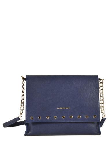 Longchamp Paris Rocks Messenger bag Blue
