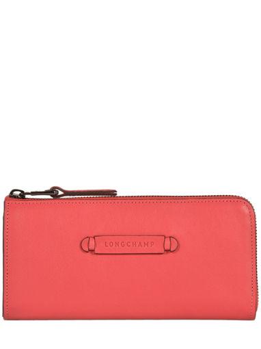 Longchamp Longchamp 3d Portefeuille Rouge