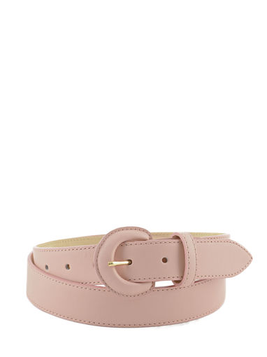 Longchamp Honoré 404 Belts Pink